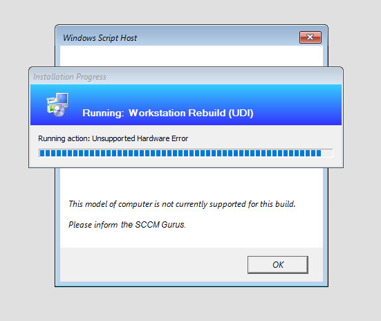Guide – Unsupported Hardware Filter – Everything SCCM